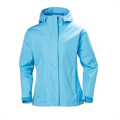 Helly Hansen Womens Seven J Jacket, Aqua Blue thumbnail