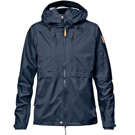 Image of   Fjällräven Keb Eco-Shell Jacket Womens, Dark Navy