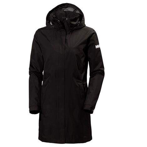 Helly Hansen Womens Aden Long Jacket, Black