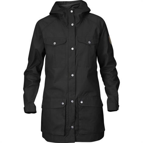 Fjällräven Greenland Parka Light Womens, Black