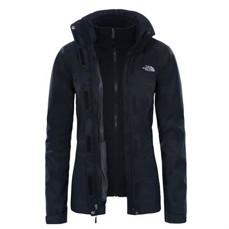 Image of   The North Face Womens Evolve II Triclimate Jacket, Black / Black