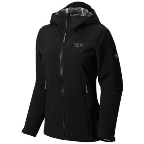 Image of   Mountain Hardwear Womens Stretch Ozonic Jacket, Black
