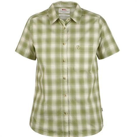 Image of   Fjällräven Övik Check Shirt S/S Womens, Willow