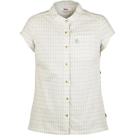 Image of   Fjällräven Övik Seersucker Shirt CS Womens, Blue Ridge