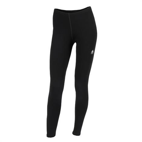 Image of Aklima Warmwool Longs Woman, Jet Black