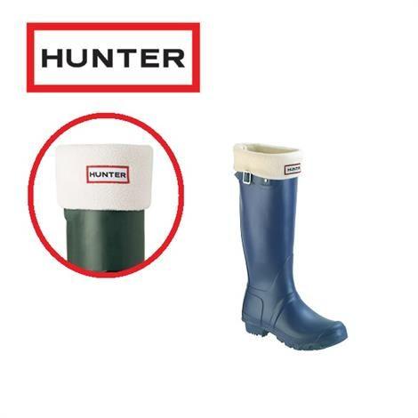 Hunter Sokker Fleece, Cream