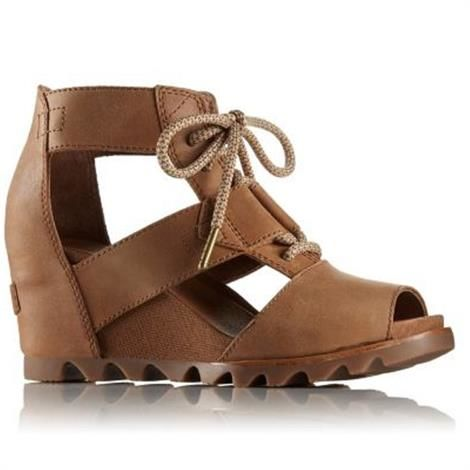 Image of   Sorel Joanie Lace Dame, Camel Brown