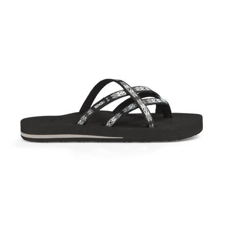 Image of   Teva Olowahu Dame, Pana Black/ Grey