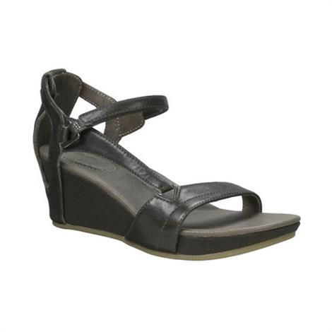 Teva Capri Wedge Dame, Black Olive