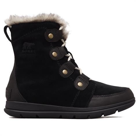 Image of   Sorel Explorer Joan Dame, Black / Dark Stone