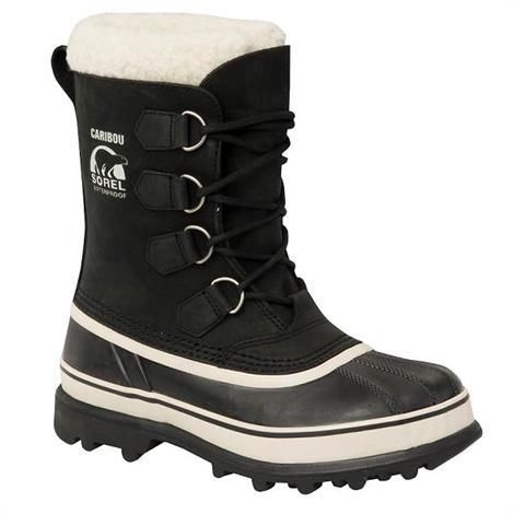 Image of   Sorel Caribou Dame, Black / Stone