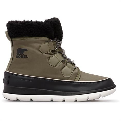 Image of   Sorel Explorer Carnival Dame, Hiker Green / Black