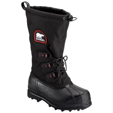 Image of   Sorel Glacier XT Dame, Black / Red Quartz