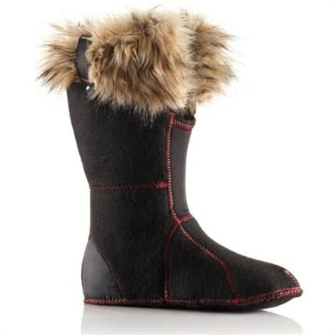 Image of   Sorel Joan of Arctic Innerboot Dame, Black
