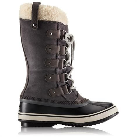 Image of   Sorel Joan of Arctic Shearling Dame, Dark Grey / Black