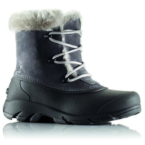 Image of   Sorel Snow Angel Lace Dame, Charcoal