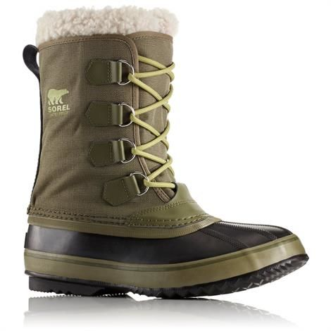 Image of   Sorel 1964 Pac Nylon Herre, Nori / Black