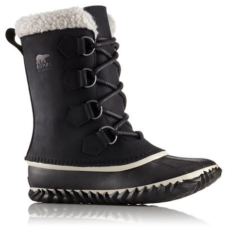 Image of   Sorel Caribou Slim Dame, Black