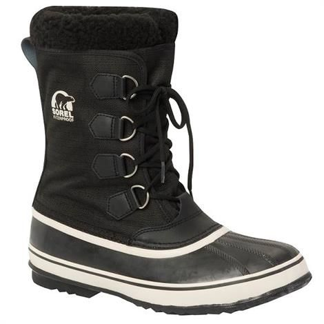 Image of   Sorel 1964 Pac Nylon Herre, Black / Tusk