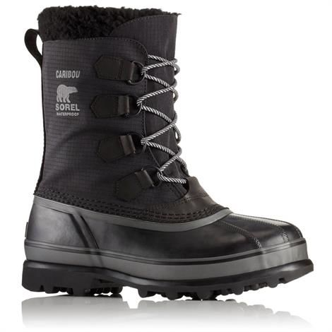 Image of   Sorel Caribou Reflect Herre, Black / Black