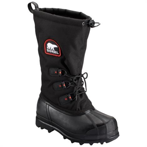 Image of   Sorel Glacier XT Herre, Black / Red Quartz