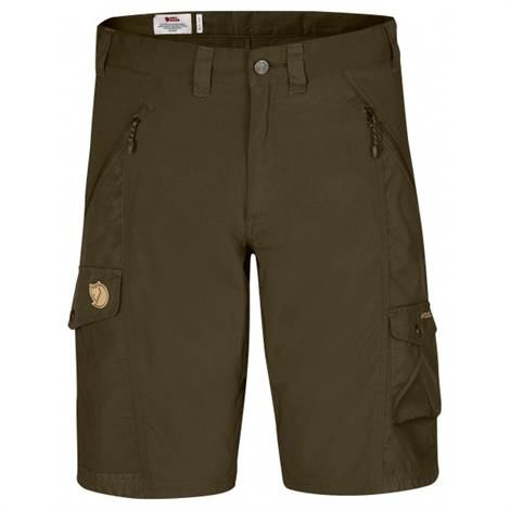 Image of   Fjällräven Abisko Shorts Mens, Dark Olive