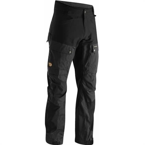 Fjällräven Keb Trousers Mens, Black / Dark Grey