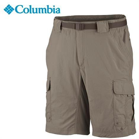 Columbia Mens Silver Ridge Cargo shorts, Tusk