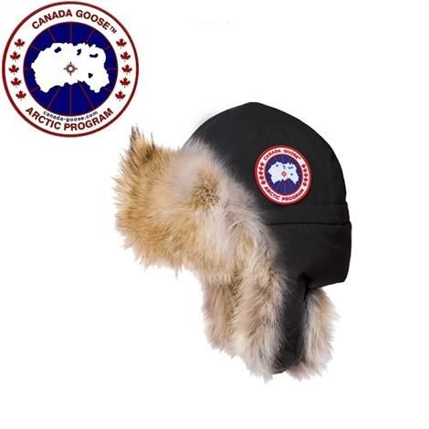 Image of   Canada Goose Aviator Hat, Black