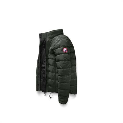 Image of   Canada Goose Mens Brookvale Jacket, Volcano / Black