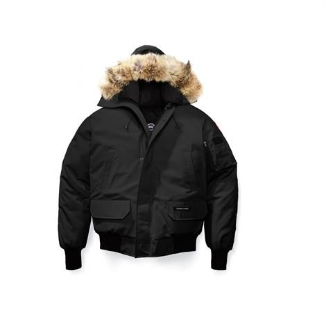 Image of   Canada Goose Mens Chilliwack Bomber RF, Black