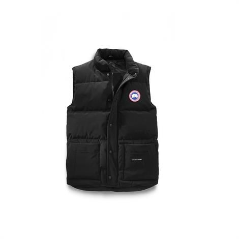 Canada Goose Mens Freestyle Crew Vest, Black