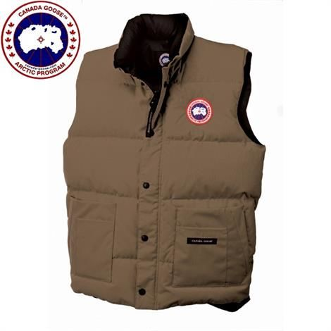 Image of   Canada Goose Mens Freestyle Vest, Tan