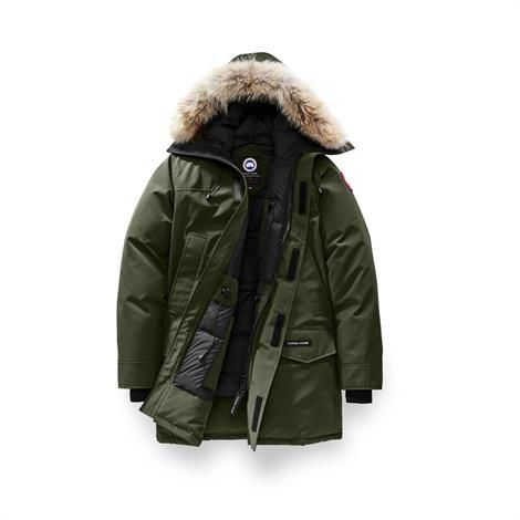 Image of   Canada Goose Mens Langford Parka, Military Green