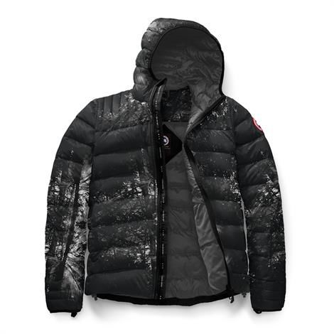 Image of   Canada Goose Mens Brookvale Hoody, Deep Woods Print / Graphite