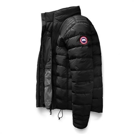 Image of   Canada Goose Mens Brookvale Jacket, Black / Graphite