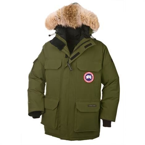 Canada Goose Mens Expedition Parka, Military Green
