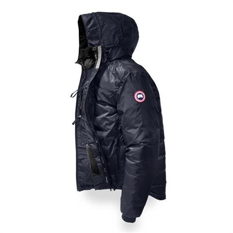 Image of   Canada Goose Mens Lodge Hoody, Admiral Blue / Black