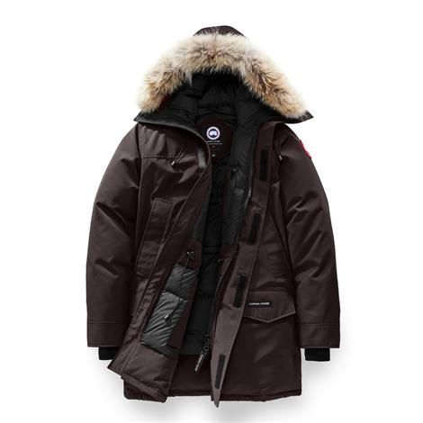 Image of   Canada Goose Mens Langford Parka, Charred Wood