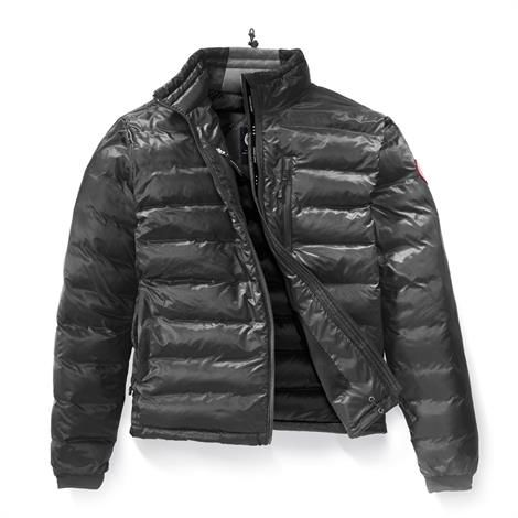 Image of   Canada Goose Mens Lodge Jacket, Graphite / Black