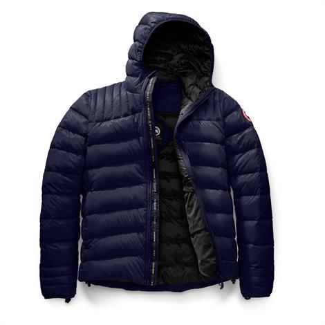 Canada Goose Mens Brookvale Hoody, Deep Sea Blue / Black