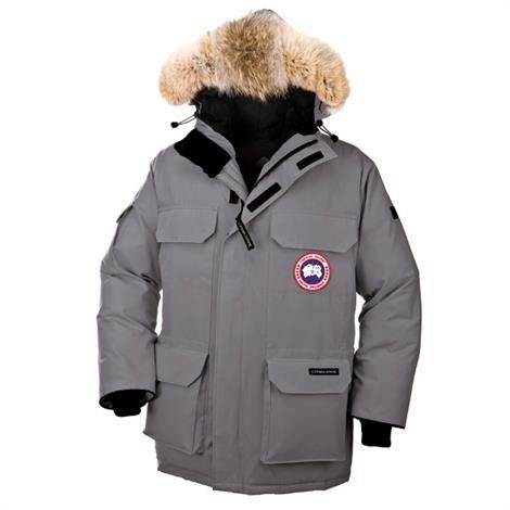 Image of   Canada Goose Mens Expedition Parka, Mid Grey