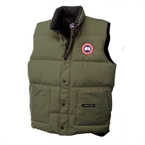 Image of   Canada Goose Mens Freestyle Vest, Military Green