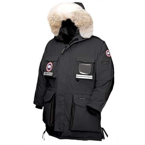 Canada Goose Mens Snow Mantra Parka, Black