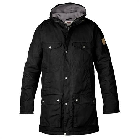 Fjällräven Greenland Winter Parka Mens, Black / Grey
