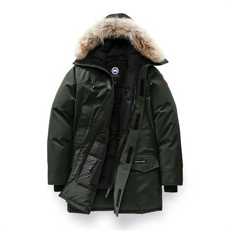 Image of   Canada Goose Mens Langford Parka, Volcano