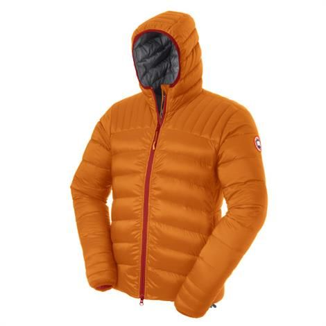 Canada Goose Mens Brookvale Hoody, Sunset Orange
