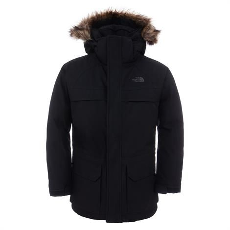 The North Face Boys Mcmurdo Down Parka, Black