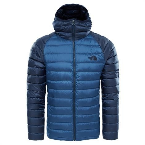 The North Face Mens Trevail Hoodie, Shady Blue