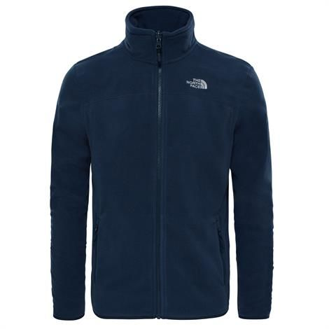 Image of   The North Face Mens 100 Glacier Full Zip, Urban Navy / Urban Navy
